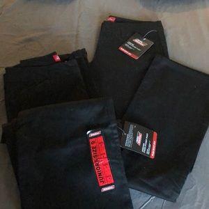 Dickies slim boot cut 4 pockets twill trousers